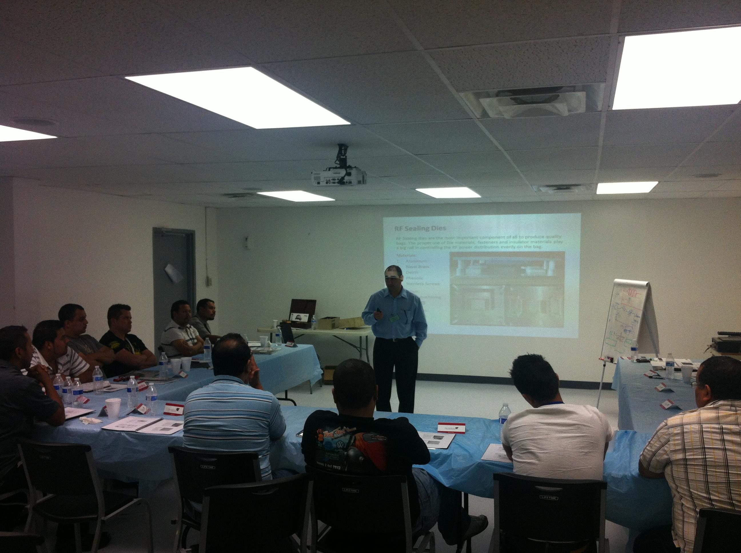 RF Welding Training Seminar