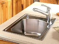 drop in sink/ self rimming sink