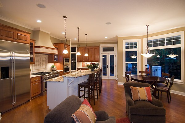 Open kitchen floor plans - Open floor plan kitchen ...