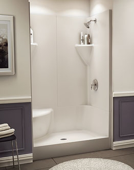prefab shower stall bathroom remodel 3 walk in shower design ideas 1628