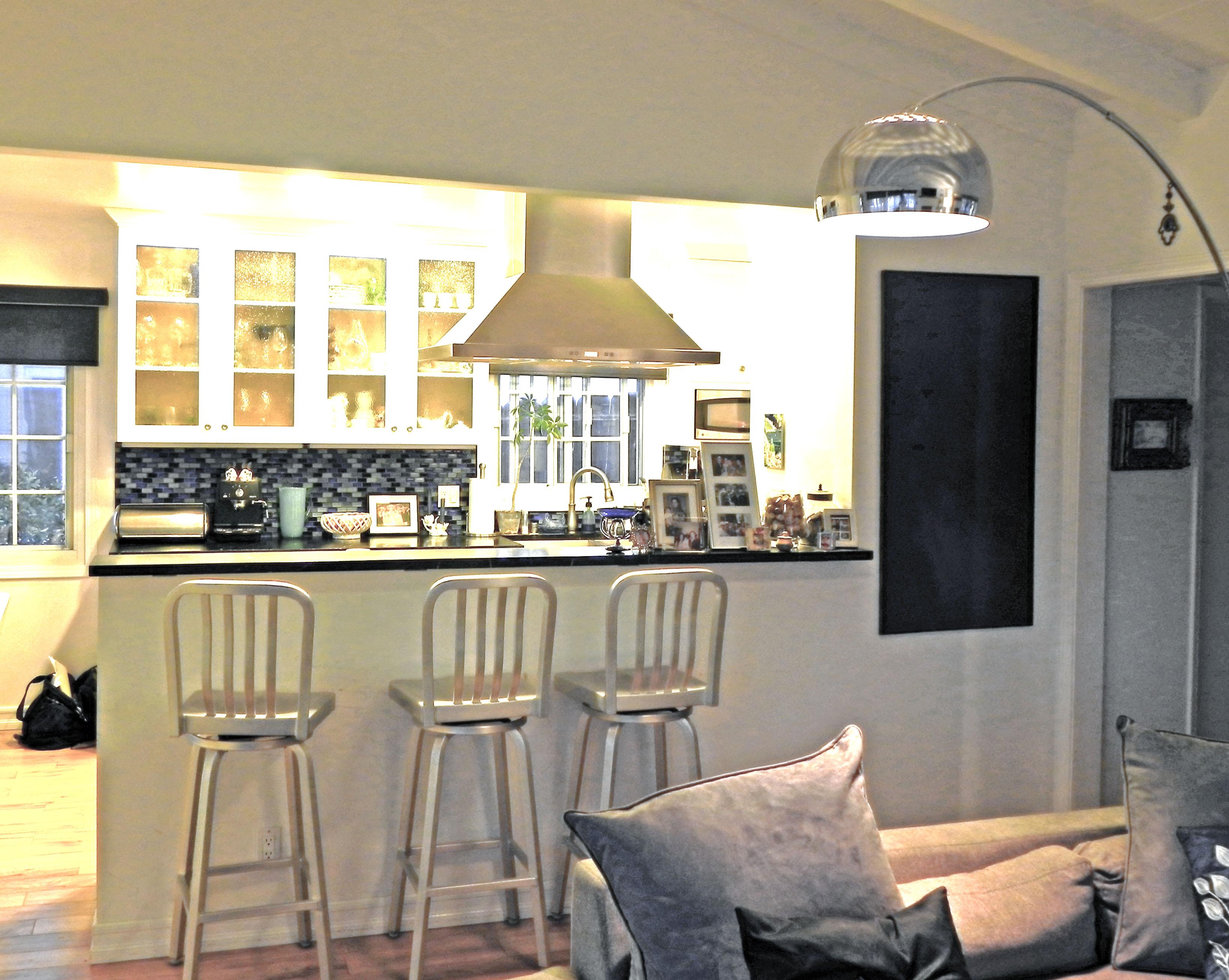 kitchen remodeling los angeles: open kitchen floor plan