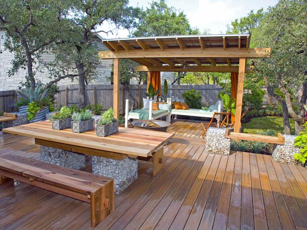 Decking and outdoor living space ideas - Wooden balcony design ideas perfect harmony ...