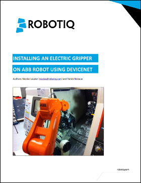 robot gripper electric gripper abb robot