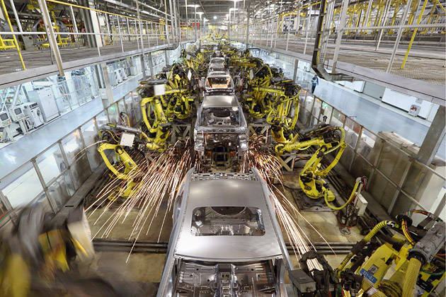 Top 5 Robotic Applications In The Automotive Industry