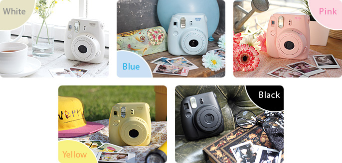 Instax Mini 8 Colours