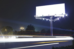 empty billboard