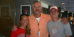 Ron Kittle with BLT guests