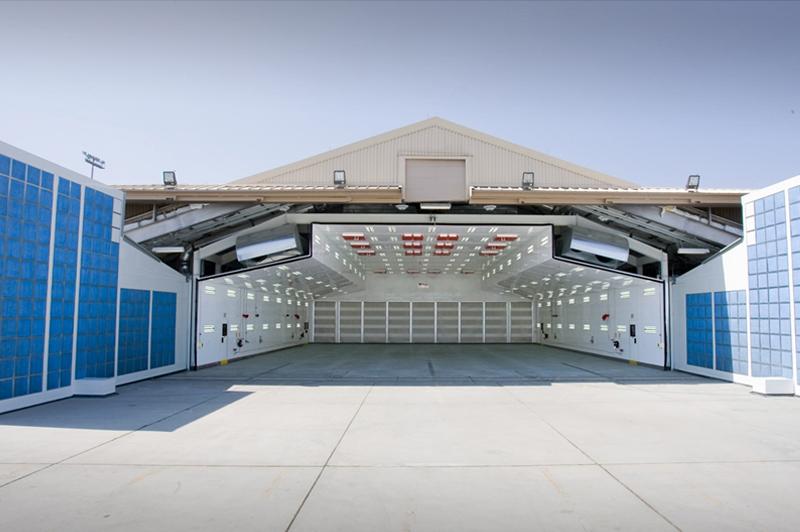 Aerospace Paint Spray Booths