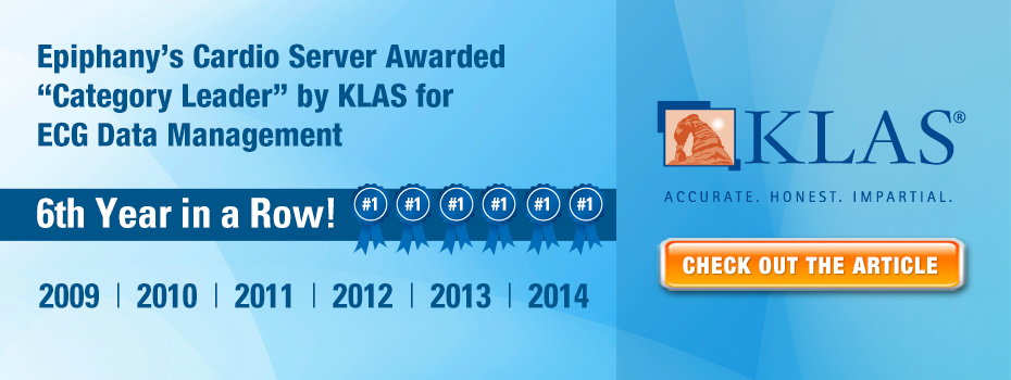 Epiphany Healthcare KLAS Category Leader