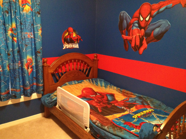 Amazing Spider-Man Kids Room Ideas 600 x 450 · 751 kB · png