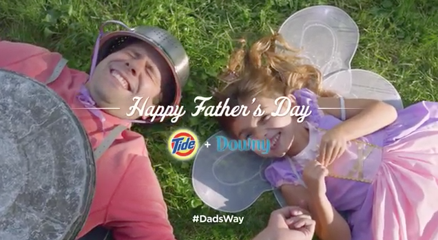 #dadsway tide downy