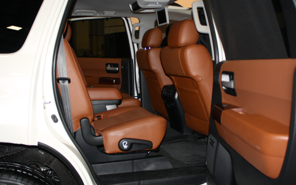 sequoia, car interior, truck, suv