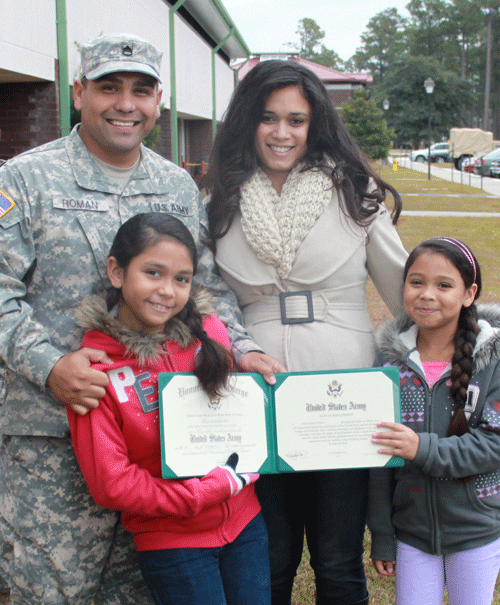 Ssgt Jorge Roman, Military Fatherhood Award finalist