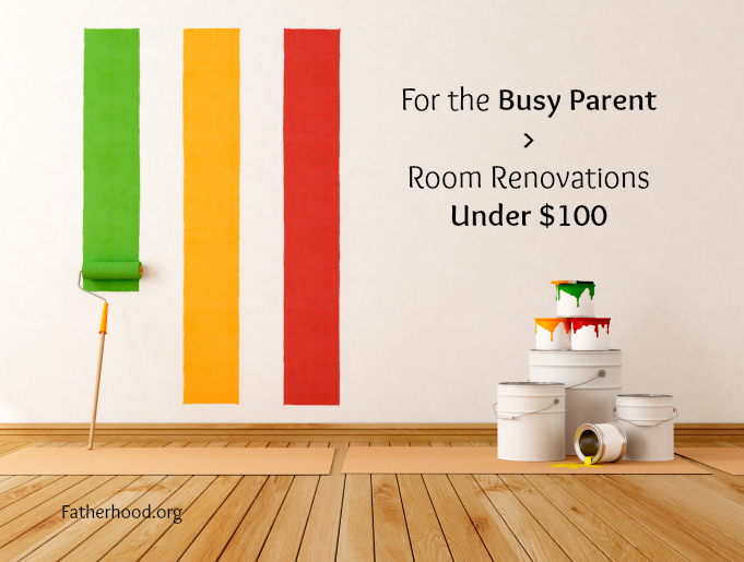 for the busy parent room renovations under $100