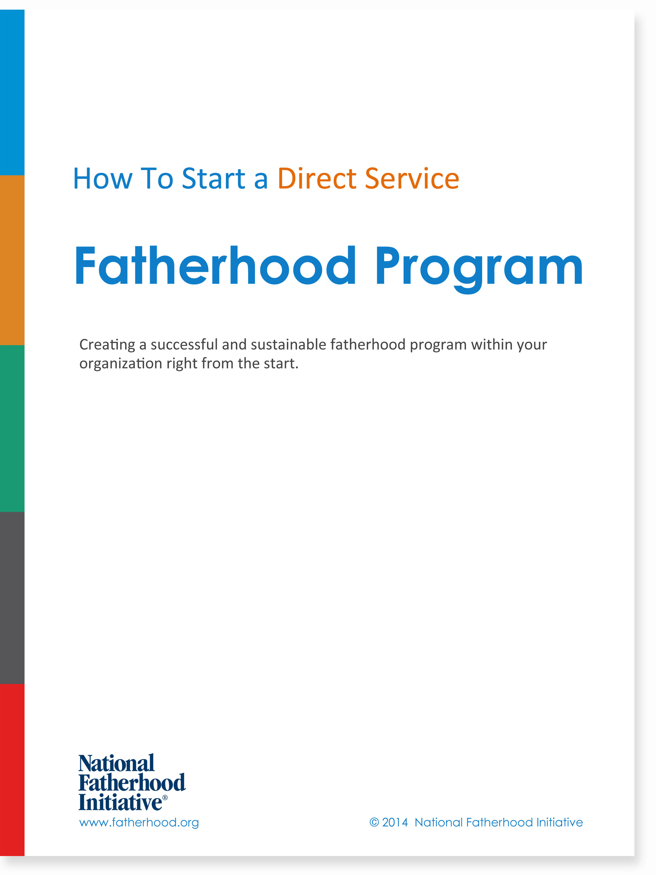How to Start a Fatherhood Program eBook Cover
