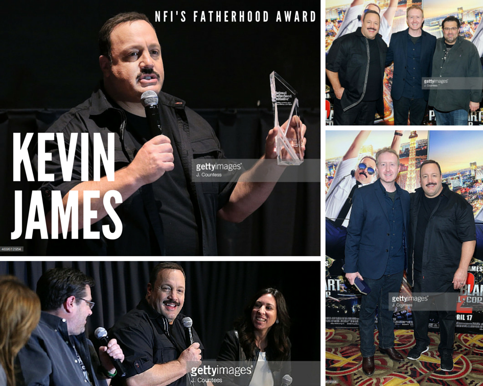 nfi-fatherhood-award-nyc-event kevin james ryan sanders andy fickman the moms paul blart