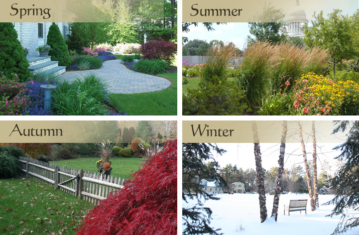 The Garden Continuum - 4 seasons of landscape design photos