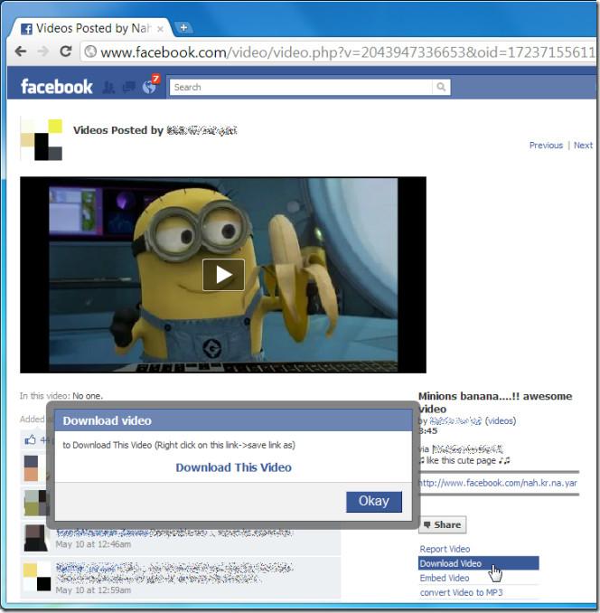 Facebook está probando un método para potenciar el uso del vídeo en su red