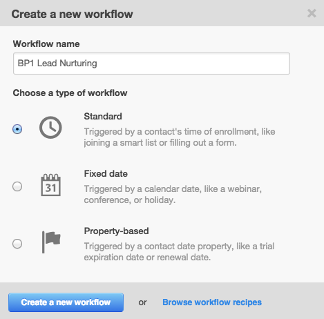 workflow nuevo bp1 La herramienta de Workflows de HubSpot al detalle