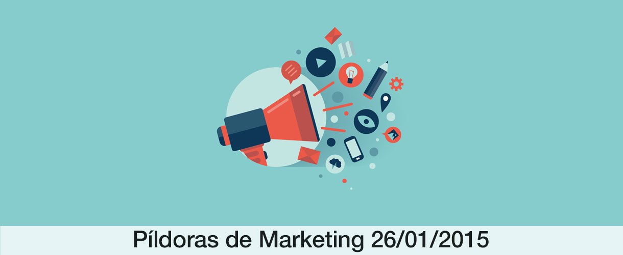26ene Píldora de marketing 009: todos los caminos conducen al marketing