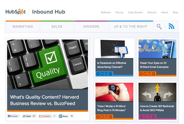 ¿Es el blog una plataforma de venta óptima?