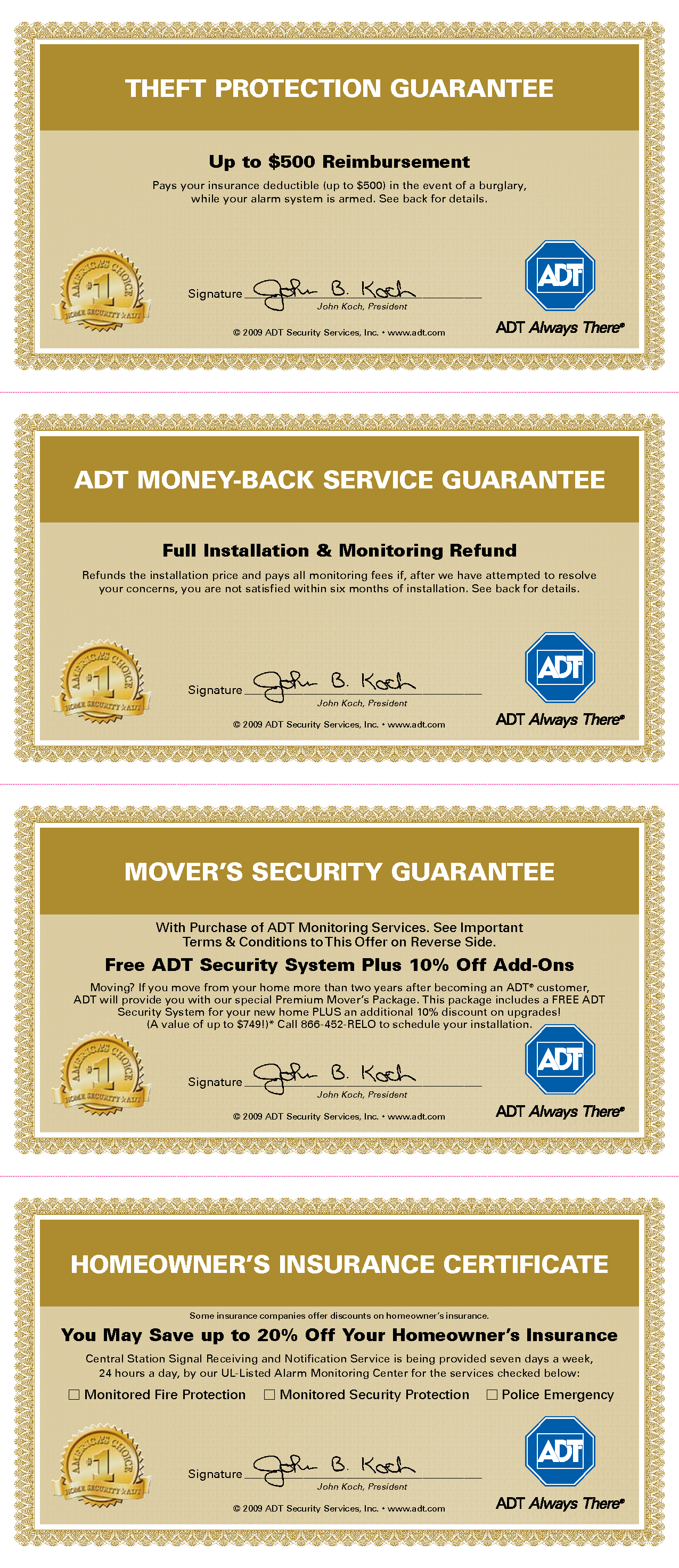 ADT_warrantees_and_guarantees_Movers_Security_Gaurantee_Money_back_service_guarantee_Theft_Protection_Guarantee_Homeowners_Insurance_Certificate