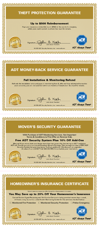 Does ADT Offer any Warranty or Guarantees?