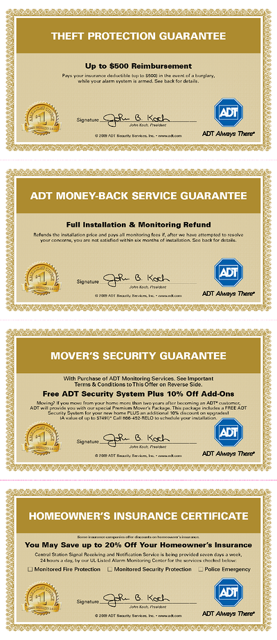 Does Adt Offer Any Warranty Or Guarantees