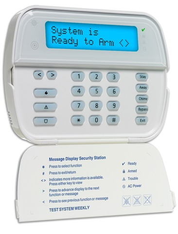 DSC Wireless Alpha Numeric Keypad