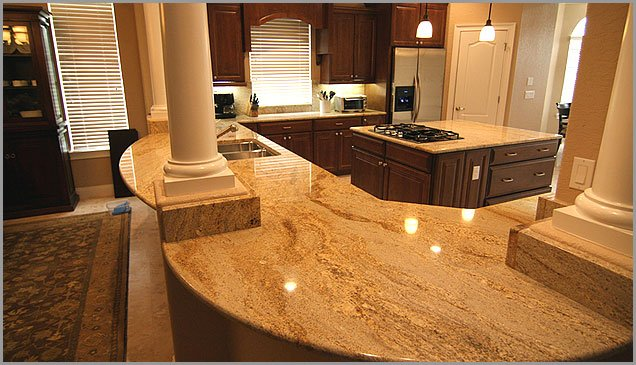 Granite countertops and poor indoor air quality Kitchen design with granite countertops