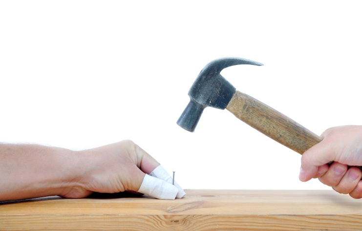 Do it yourself hammer accident