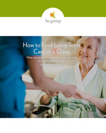 Finding long-term care in a crisis