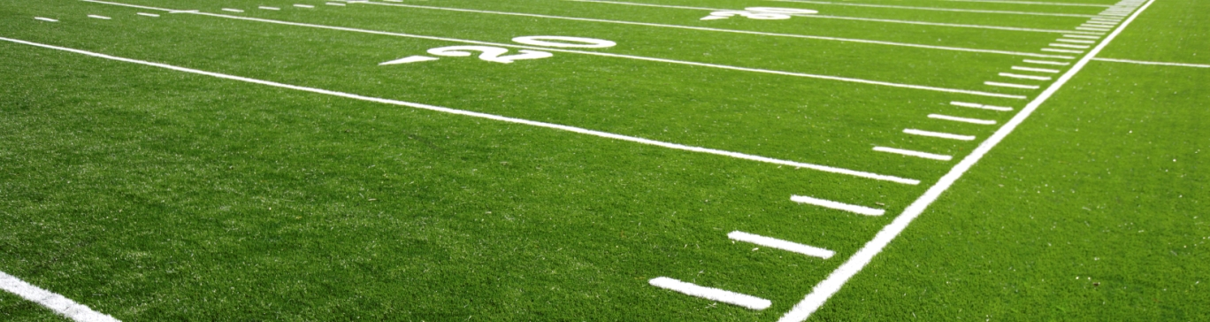 field turf for a sports field
