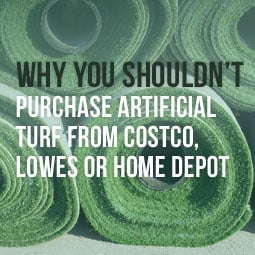 Why you shouldn t purchase artificial turf from costco lowes or home