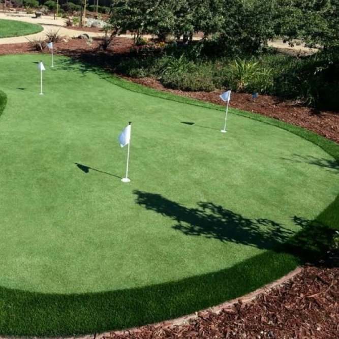 back yard makeover being more active in you backyard with a putting