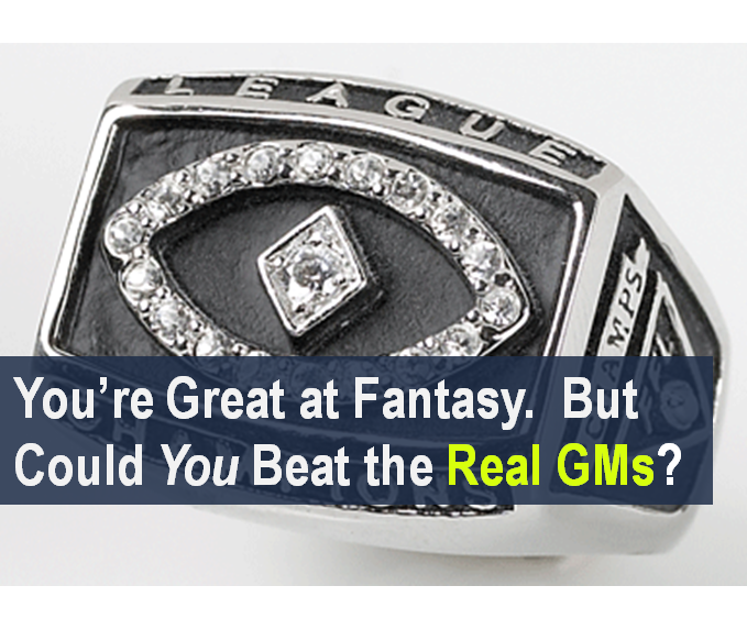 You're Great at Fantasy. But Could You Beat the Real GMs?