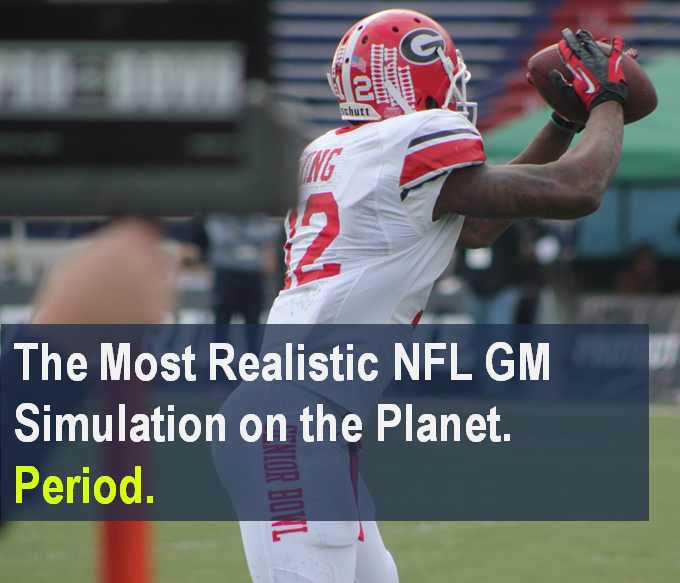 The Most Realistic NFL GM Simulation on the Planet. Period.