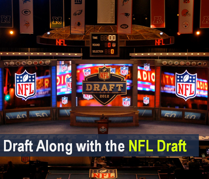 Draft Along with the NFL Draft