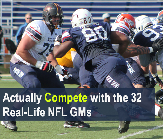 Actually Compete with the 32 Real-Life NFL GMs
