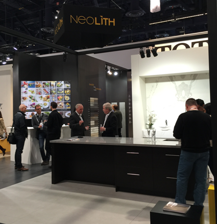 Neolith introduces new products at kbis for Kitchen and bath show las vegas