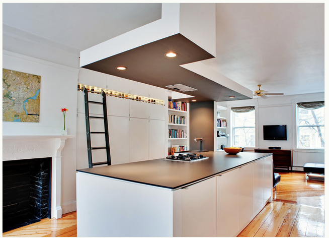 Workshop Countertop Materials : ... thin European styled countertop by Bunker Workshop ; photo via Houzz