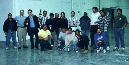Group photo of Marble and Granite, Inc. in 2000