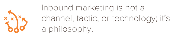 inbound marketing philosophy