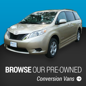 Browse our pre-owned conversion vans