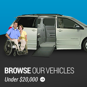 Browse our conversion vans under $20,000