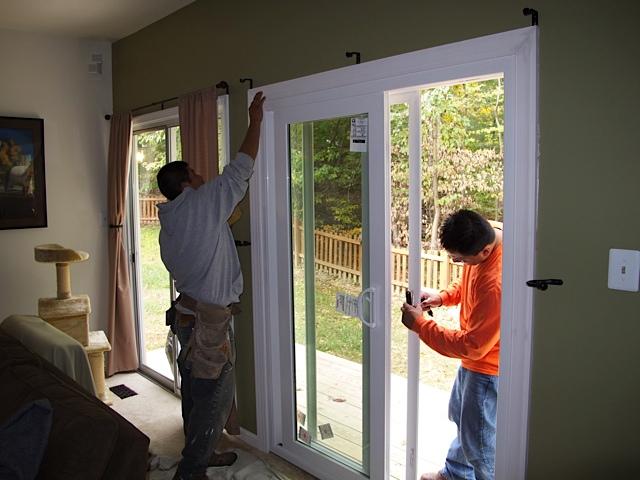 Best in class sliding glass door installation project of the week