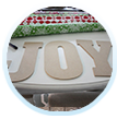 Create a DIY Joy pallet sign.