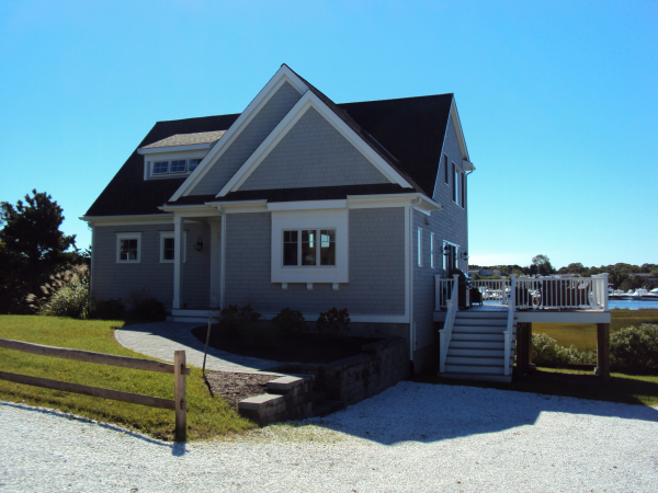 Cape Cod riverfront home