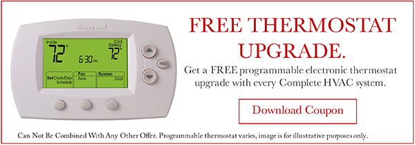 free thermostat upgrade fh furr deals washington dc area