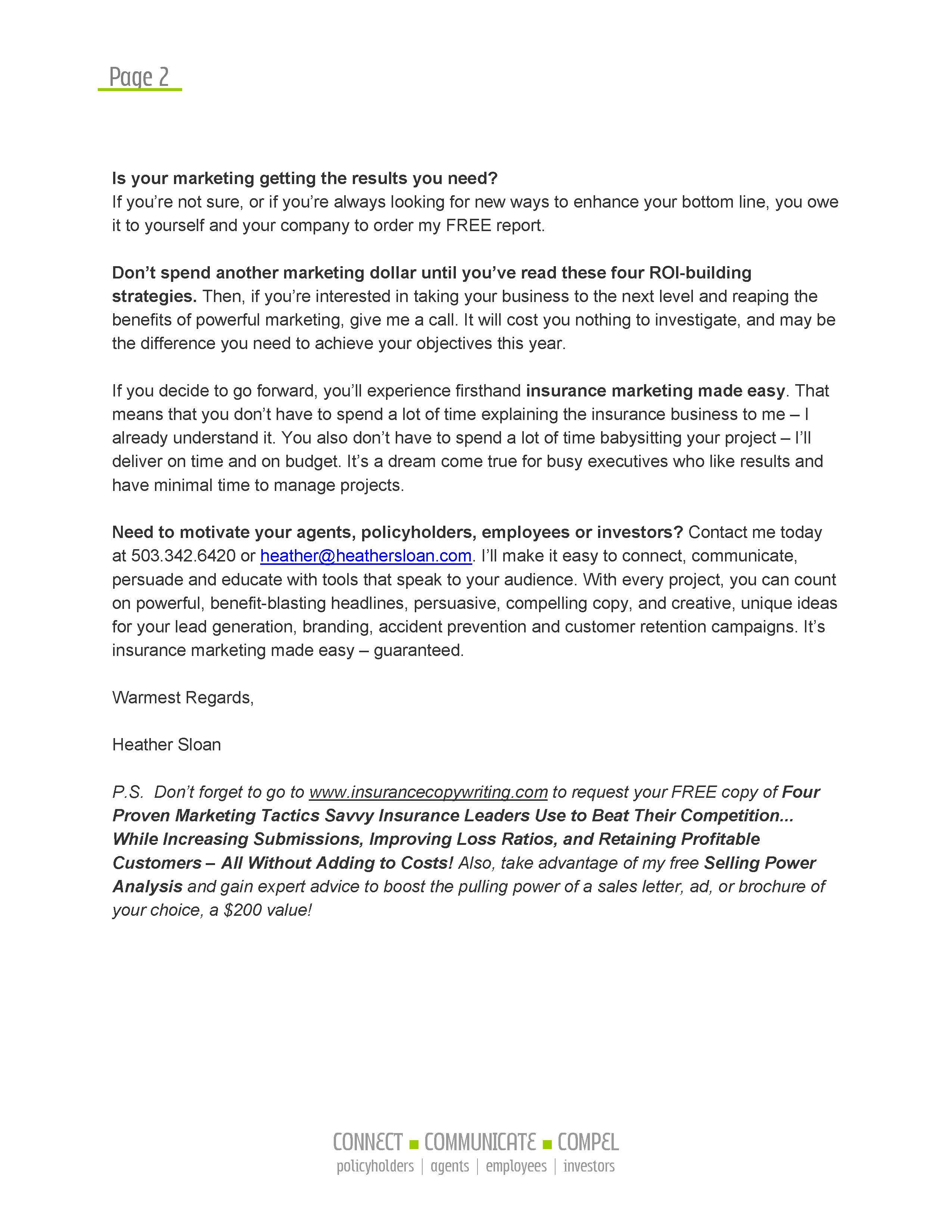 marketing letters Kordurorddiner
